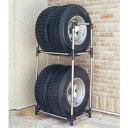 4WD・RV・SUV用 ステンレスタイヤラック KSL-710【家具】【収納術】 衣替え【送料無料】
