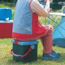 【送料無料】アイリスオーヤマ RVバケツ RV-25B グレー/ダークグリーン 踏み台 いす 工具 レジャー用品 キャンプ用品 バケツ 深型[cpir]