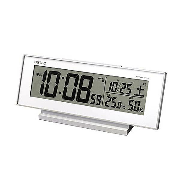【送料無料】セイコークロック〔SEIKO CLOCK 〕 置時計 SQ762W【TC】【HD】