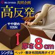 高反発マットレス シングル MAK8-S あす楽対応 送料無料 シングルサイズ ベージュ ダークブラウン 高反発 マットレス ベッドマット 寝具 ウレタン ウレタンマットレス 一人暮らし 寝具 8cm 敷き アイリスオーヤマ