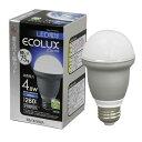 LED電球【40W相当】 4.8w 白色 普通4.8W 263ECOLUX〔エコルクス〕【アイリスオーヤマ】【2010_野球_sale】【限定P10】