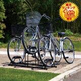 【】自転車スタンド 〔3台用〕 BYS-3〔自転車置き場・自転車・二輪車・屋外収納・屋外用ガレージ・レジャー〕【アイリスオーヤマ】【限定】【ENET】【RCP】【10P13Dec14】