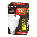 【LED電球】東芝E-CORE LED ミゼットレフ40Wクラス LEL-SL5L-F 【TC】【smtb-s】【2010_野球_sale】
