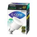 【LED電球】東芝E-CORE LEDミゼットレフ60WクラスLEL-SL5N-F/2 【TC】【smtb-s】【2010_野球_sale】