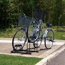 自転車スタンド 〔2台用〕 BYC-2【アイリスオーヤマ】【2010_野球_sale】