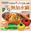 無加水鍋 20cm【送料無料】≪蒸し皿プレゼント≫