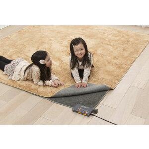 【送料無料】アイリスオーヤマ人感・室温センサー付ホットカーペット3畳用JSHC-3H