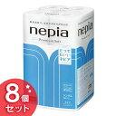 ネピア プレミアムソフト12Rシングル 60m 石けんの香り nepia ティッシュ トイレットペーパー ロールティッシュ 王子ネピア