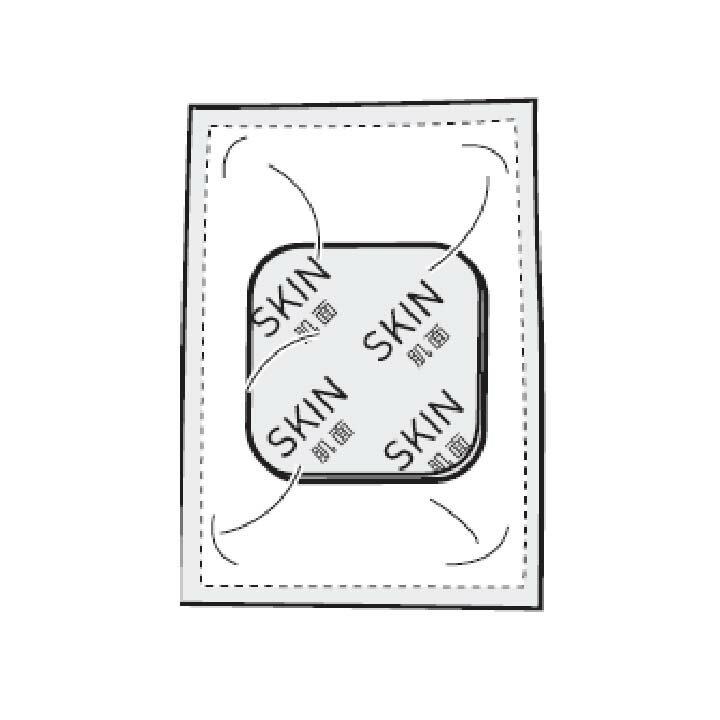 【低周波治療器】低周波治療器パッド【オムロン】オムロン HV-PAD-3【KM】【TC】