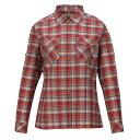 [送料無料]スコーロン・フィフスチェックシャツ・レッド女性用Mサイズ