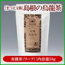 【松江産茶葉100%】松江産『有機烏龍茶』50g国産ウーロン茶