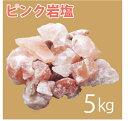 【訳あり】くず バラヒマラヤ岩塩 5kg(ピンク岩塩)福袋/ガーデニングにも