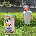 龍宝丸 かかしBOY K-001 【防鳥】【防蝶】【防鳥網】【防鳥ネット】【鳥よけ】【鳥害対策】【駆