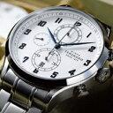 【送料無料】【正規品】 天賞堂 ヒストリカルクロノグラフ HISTRICAL CHRONOGRAPH 1920年代当時販売していた懐中時計の文字盤を取り入れた記念モデル ベルト2本付 【RCP】