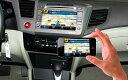 愛車をMiracast、AirPlay対応に!アンドロイドやiPhoneのスマートフォン画面 、Yahoo!カーナビ、Googleマップナビ、NAVITIME、navico等のカーナビの画面、音声もワイヤレス表示。車載用WiFiミラ—リング装置