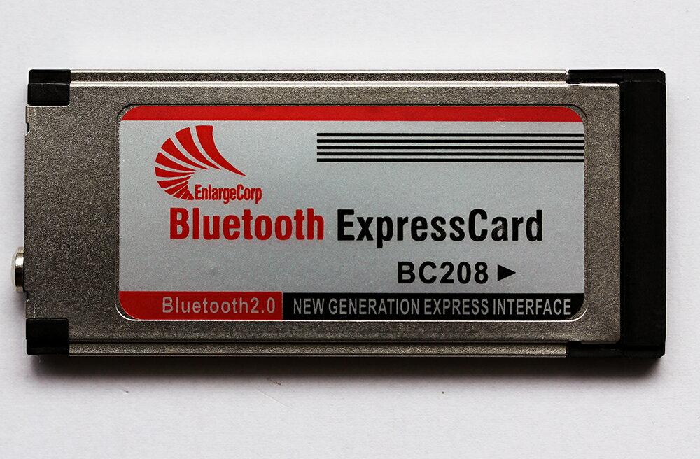 ノート用 ExpressCard/34 BC208 エクスプレスカード用 Bluetoothアダプタ