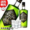 【送料無料】コカレロ COCALERO (ショットグラス3個付き) 700ml リキュール 29度 正規品