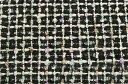 イギリス製【LINTON/リントン】シャネルツィードコットン・シルク・ヴィスコースファンシーツィード50cm単位 生地・布