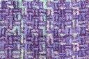 イギリス製【LINTON/リントン】シャネルツィードシルク・ブレンドファンシーツィード50cm単位 生地・布