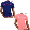 【サマーSALE】ROXY(ロキシー)半袖ラッシュガード・レディース水着・RASHIE S/S