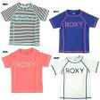 【サマーSALE】ROXY(ロキシー)キッズ半袖ラッシュガード・女の子用水着・MINI RASHIE S/S
