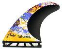 FUTURE(フューチャー)サーフボード用フィン・V2-R1 BLACK STIX2.0・限定モデル