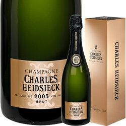 2005年 シャルル・エドシック ブリュット・ヴィンテージ [ボックス付] / シャルル エドシック フランス シャンパーニュ / 750ml / スパークリング