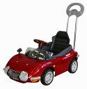 ミズタニ A-KIDSベビーカーの次はこれで決まり押手付ペダルカートヨタ2000GTレッド押手付き 自動車 0824楽天カード分割
