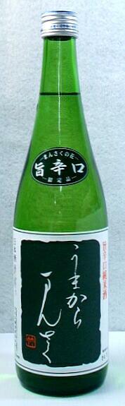 【秋田の地酒】「まんさくの花 うまからまんさく」720ml