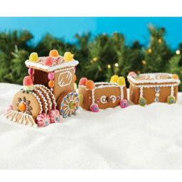 【セール品】Create A Treat ジンジャーブレッドトレイン<strong>キット</strong> | プレゼント ギフト スタイリッシュ おしゃれ 製菓 <strong>お菓子の家</strong> クリスマス 汽車 手作り<strong>キット</strong> クッキー
