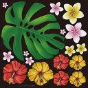 店舗看板シール ステッカー ラベル デコレーションシール チョークアート(リボン フラワー 装飾) 6308 デカール(サイン ボード ブラ..