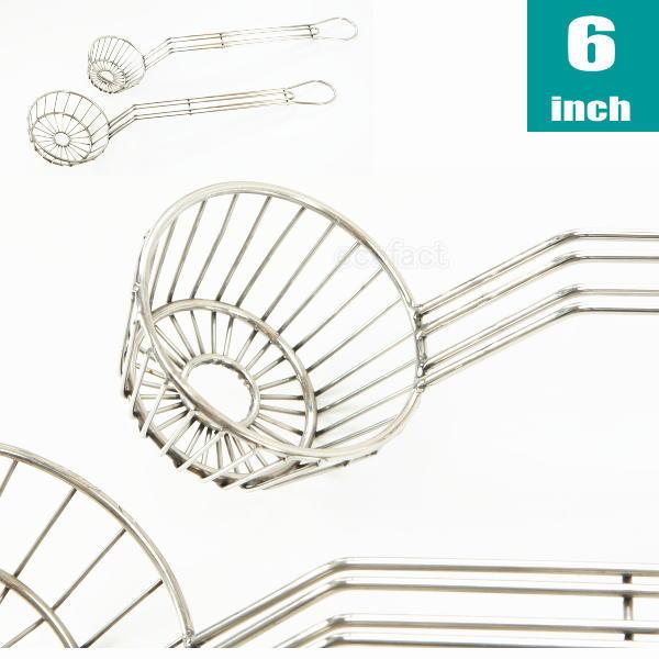 厨房機器フライヤータコスフライヤーラウンドカップ6インチ(メキシコ料理タコス)業務用調理器具