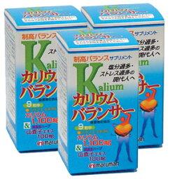 カリウムバランサー【3本セット】マルマン:(サプリメント)今日もカップ麺ですか。スープまで飲み干してしまった貴方、後悔してない?【送料無料】 【RCP】【同梱区分J】