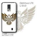 送料無料 Optimus LTE L-01D ケース/カバー 【ヘルズエンジェル クリアケース素材】オプティマス l01d スマートフォンカバー・ケース 05P01Oct16