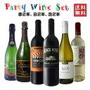 ショッピングパーティ 【送料無料】【A面】泡2本、白2本、赤2本のパーティーワインセット新登場♪サクラアワード審査員を務める当店ソムリエールが厳選した、ちょっぴり贅沢な6本セットです!ワインセット フランス カリフォルニア チリ