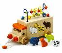 5250円以上お買い上げで送料無料!アニマルビーズバス エド・インター安心・安全木のおもちゃ
