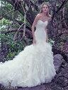 ウェディングドレス マーメイドライン マーメイド ロングドレス TW1609