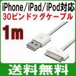 ショッピングiPhone4 送料無料 ( 相性保証付 NO:B-A-9 ) iphone4 4s ipad ipad2 対応 テータ転送 充電USBドックケーブル ( 1m ) ( DOCK 30ピンコネクタ ) ( 関連:DOCK Lightning 8ピンコネクタ ドッグコネクタ lightning ケーブル 充電USBケーブル 30ピンコネクタ 変換 )qq