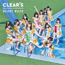 CD - CLEAR'S/HEART WASH《タイプA》 (初回限定) 【CD】