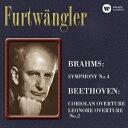 其它 - ヴィルヘルム・フルトヴェングラー/ブラームス:交響曲 第4番 ベートーヴェン:「コリオラン」序曲/「レオノーレ」序曲 第2番 【CD】