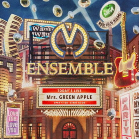 ≪初回仕様≫Mrs.GREEN APPLE/ENSEMBLE (初回限定) 【CD+DVD】