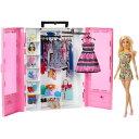 バービーとピンクなクローゼット ドール&ファッションセットおもちゃ こども 子供 女の子 人形遊び ...