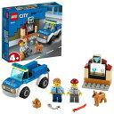 レゴ シティ ポリス 警察犬の追跡 60241おもちゃ こども 子供 レゴ ブロック 4歳