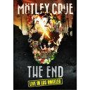 モトリー・クルー/「THE END」ラスト・ライヴ・イン・ロサンゼルス 2015年12月31日 (初回限定) 【Blu-ray】