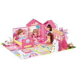 ラッピング対応可◆<strong>メルちゃん</strong> みんなおいでよ! なかよしハウス クリスマスプレゼント おもちゃ こども 子供 女の子 人形遊び 小物 3歳