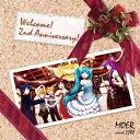 (オムニバス)/MOER feat.HATSUNE MIKU -2nd anniversary- 【CD】