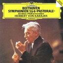 交響曲 - ヘルベルト・フォン・カラヤン/ベートーヴェン:交響曲第5番≪運命≫・第6番≪田園≫ 【CD】