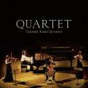加古隆クァルテット/QUARTET 【CD】