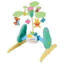 【送料無料】くまのプーさん えらべる回転6WAYジムにへんしんメリー おもちゃ こども 子供 知育 ...
