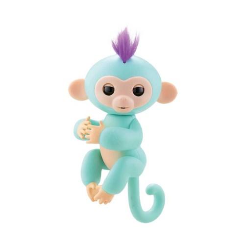 【送料無料】小っちゃな手のりモンキー ハグミン(ミント) おもちゃ 雑貨 バラエティ クリスマス プレゼント 6歳